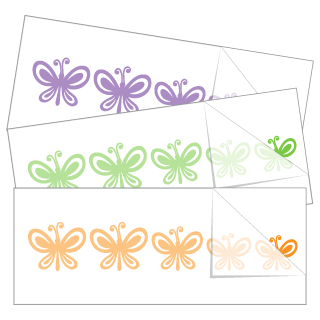 Butterfly Family Stickers and Decals