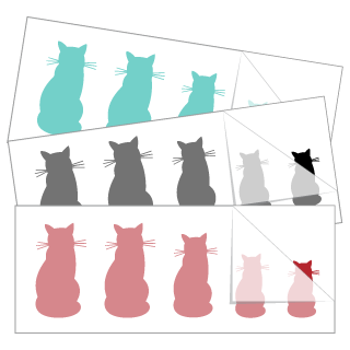 Cat Family Stickers and Decals