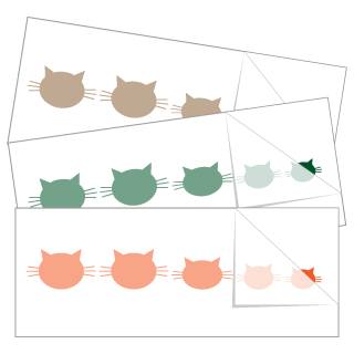 Cat Head Family Stickers and Decals