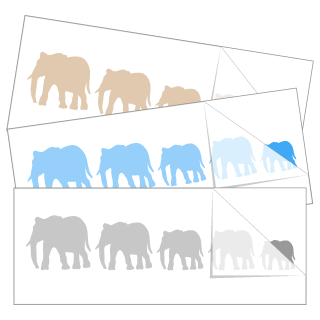 Elephant Family Stickers and Decals
