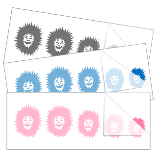 Eskimo Hoodie Family Stickers and Decals