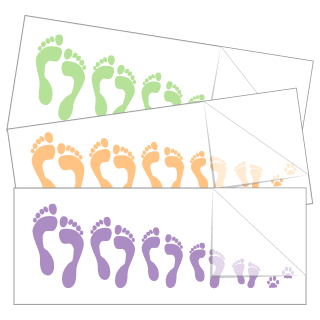 Feet Family Stickers and Decals