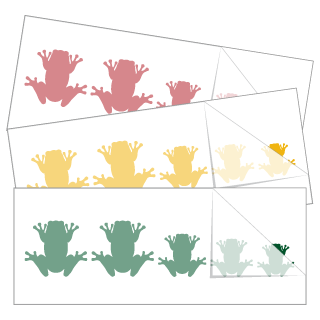 Frog Family Stickers and Decals