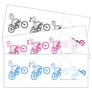 Motorcycle Family Stickers and Decals