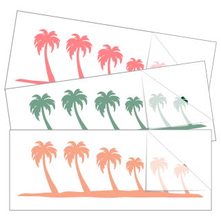 Palm Tree Family Stickers and Decals