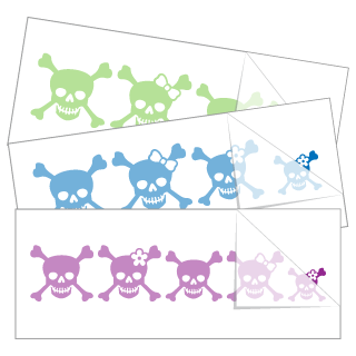 Skull Family Stickers and Decals