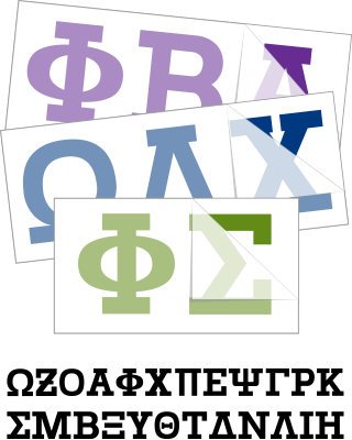 Suther Greek Letters Font