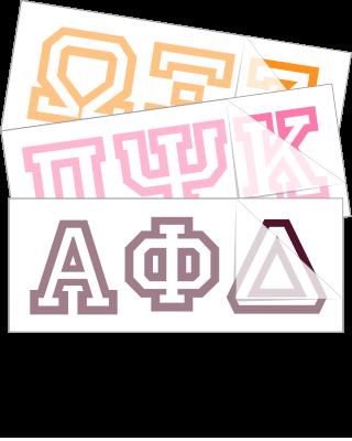 Ivy Greek Letters Font