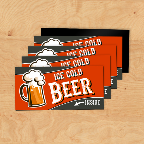 Cold Beer Magnets