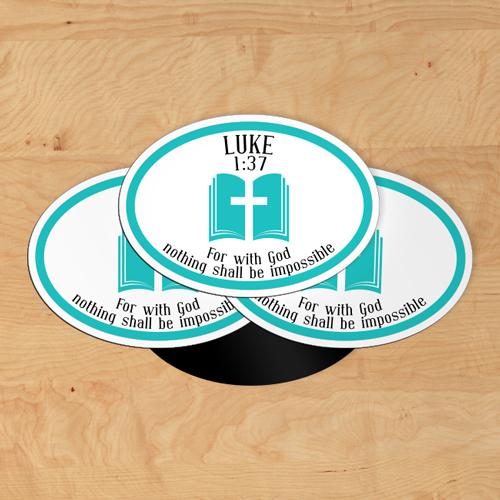 Luke Oval Magnets