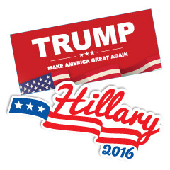 Presidential Election Campaign Stickers