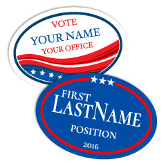 Custom Political Campaign Stickers