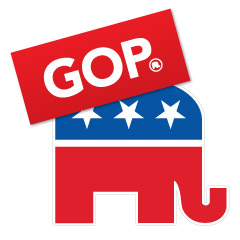 Republican Party Political Stickers