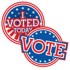 Vote Political Stickers