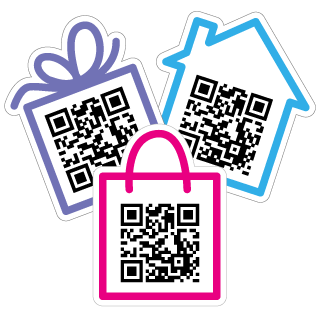 Website QR Code Stickers
