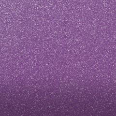Purple Glitter Material