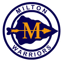 Milton Warriors Logo Vectorized